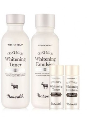 NATURALTH GOAT MILK WHITENING SET