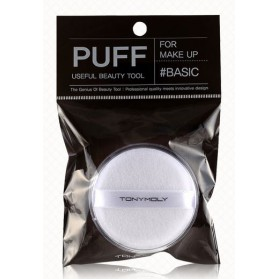 CASE POWDER COTTON PUFF