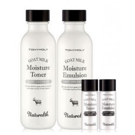 NATURALTH GOAT MILK MOISTURE SKINCARE SET