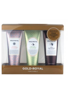 GOLD ROYAL FOAM CLEANSER 3 SET