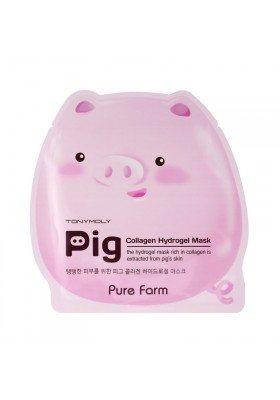 PURE FARM PIG COLLAGEN HYDROGEL MASK