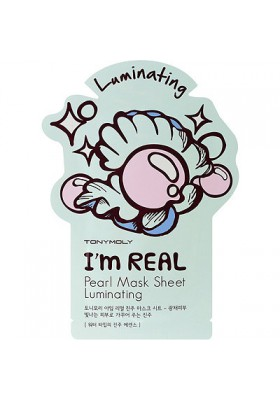 I AM REAL PEARL MASK SHEET- LUMINATING