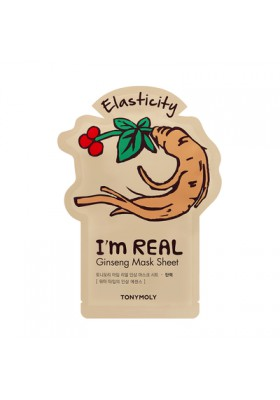 I AM REAL GINSENG MASK SHEET - ELASTICITY