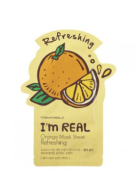 I AM REAL ORANGE MASK SHEET - REFRESHING