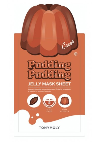 Pudding Pudding Jelly Mask CACAO