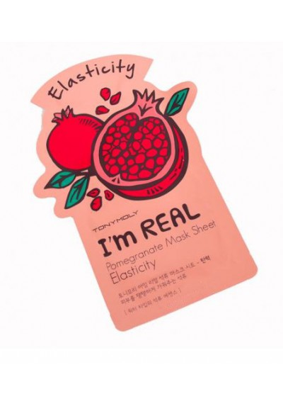I AM REAL POMEGRANATE MASK SHEET- ELASTICITY