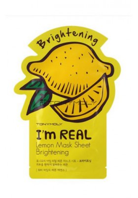 I AM REAL LEMON MASK SHEET- BRIGHTENING