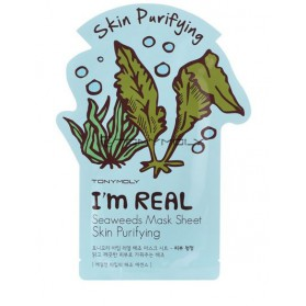 I AM REAL SEAWEEDS MASK SHEET- SKIN PURIFYING