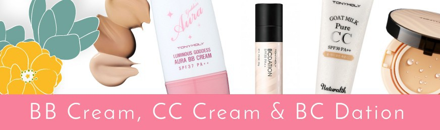 BB Cream, CC Cream & BCDation